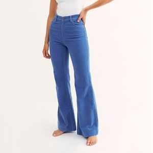 Free People Rolla's Cord Flare Pants -Tags On!